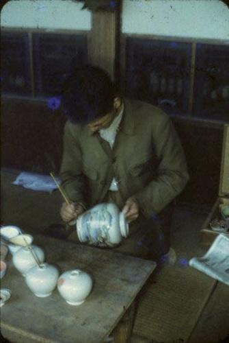 Satsumayaki potter